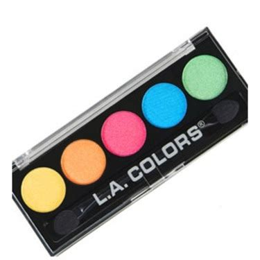 colors review l a colors 5 color metallic eyeshadow reviews in eye