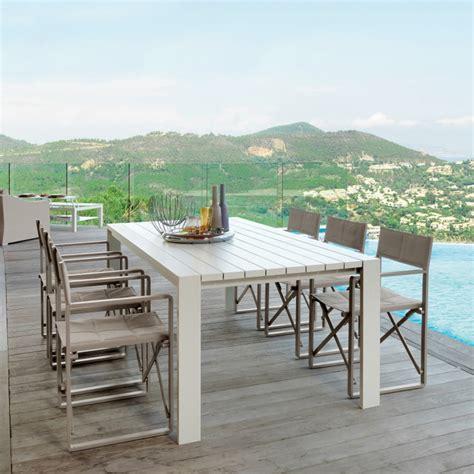 tavolo da giardino tavolo da pranzo da giardino design moderno chic 220x104xh75