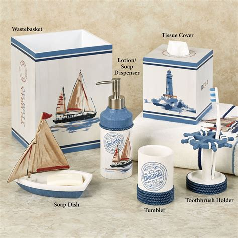 Nautical Bathroom Accessories Sets Nautical Bathroom Accessories Officialkod