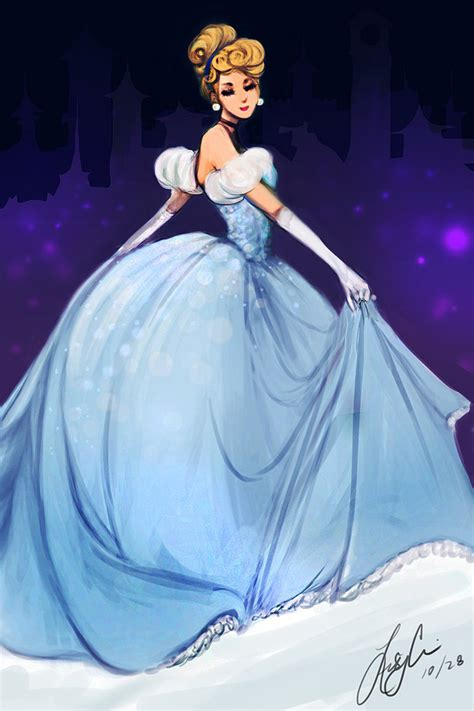 cinderella painting fan friday cinderella by techgnotic on deviantart