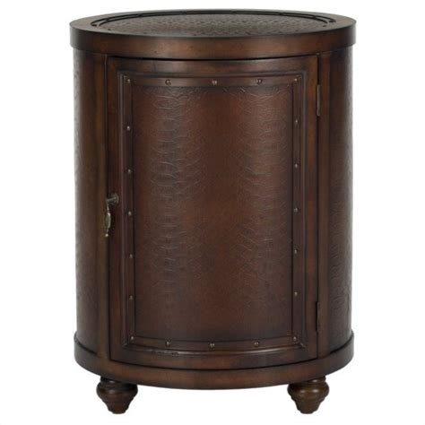 Safavieh Dining Room Chairs by Safavieh Felix Birch Wood Side Table In Dark Brown Amh4098a