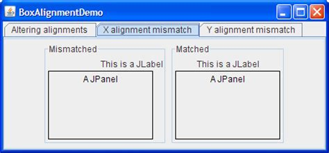 java swing layout how to use boxlayout the java tutorials gt creating a gui