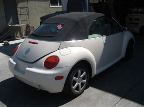 how to sell used cars 2005 volkswagen new beetle on board diagnostic system sell used 2005 vw beetle convertible 1 8 turbo in rialto california united states for us