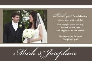 Wedding Photo Thank You Cards – Vintage Wedding Thank You Cards 5×7 Wedding Thank You Cards