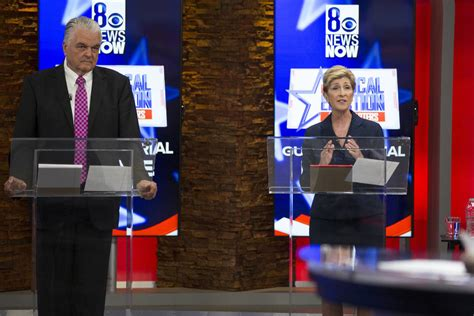 nevada governor candidates air dueling ads  early voting las vegas review journal