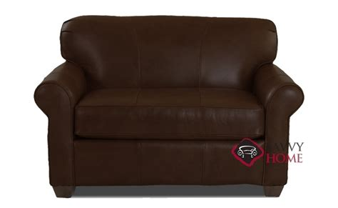 ship calgary leather chair in durango expresso by
