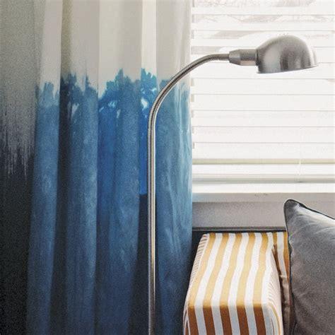dip dye curtains how to make dip dye curtains