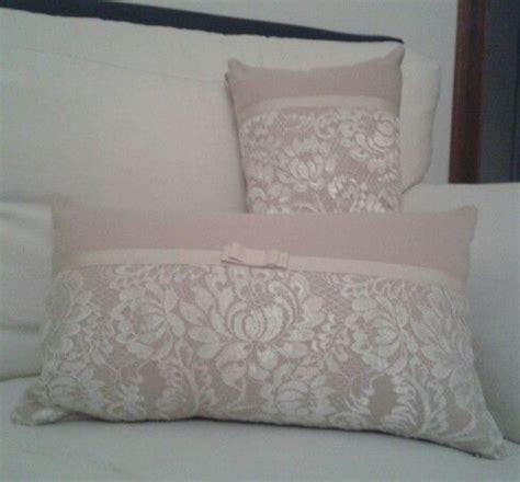 cuscini romantici cuscini romantici con pizzo cuscini arredo fai da te