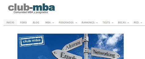 Club Mba club mba comunidad en espa 241 ol para quien estudia un mba