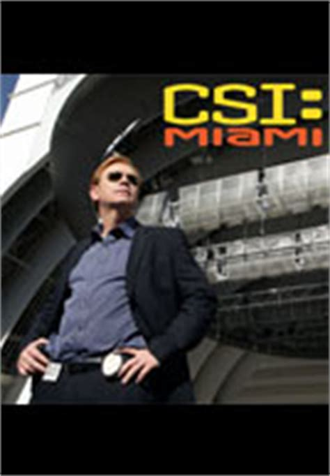 Inspires Csi Character by Csi Miami Trailers Itunes