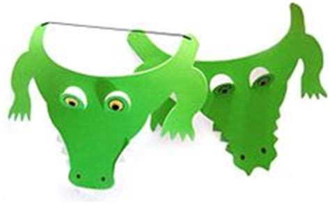 How To Make A Crocodile Mask Out Of Paper - 1000 images about crocodile mask on crocodile