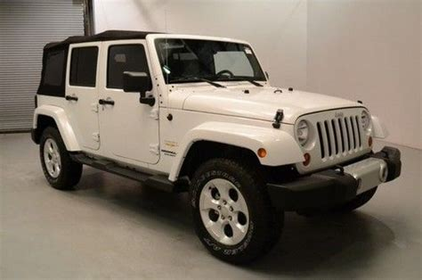 Soft Top For Jeep Wrangler Unlimited 2013 Purchase New New 2013 Jeep Wrangler Unlimited 4x4