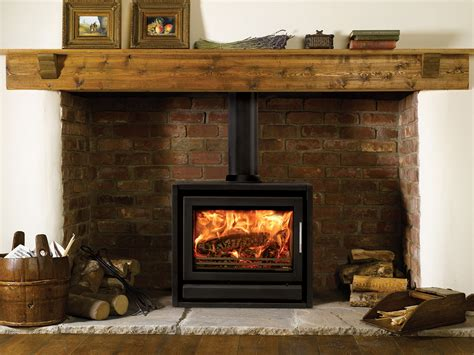 modern freestanding wood fireplace stovax riva f66 freestanding contemporary multi fuel