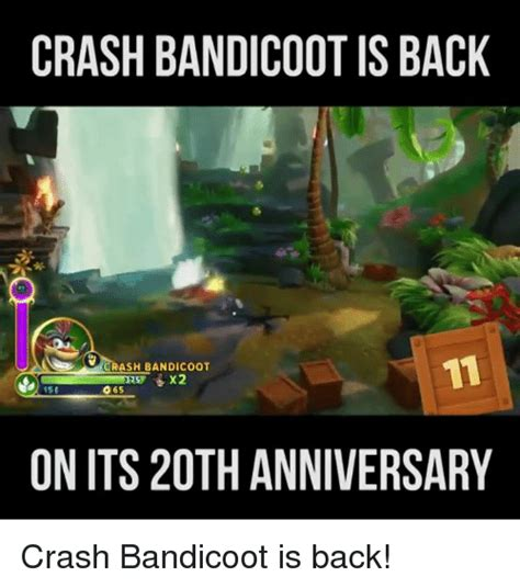 Crash Bandicoot Meme - 25 best memes about crash bandicoot crash bandicoot memes