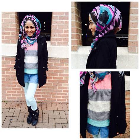 Jaket Gaya Cewek Hoodie Baju Hangat Casual Santai Distro Wanita tanpa meniru dian pelangi til berhijab dan berwarna pun bisa kamu kreasikan dengan gaya sendiri
