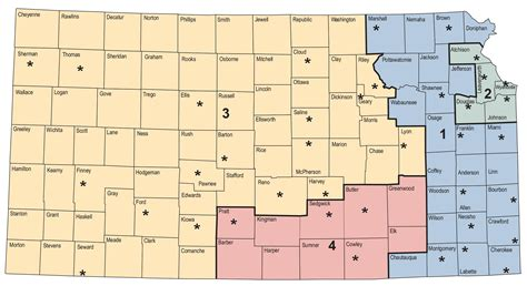 Dcf Area Offices service maps
