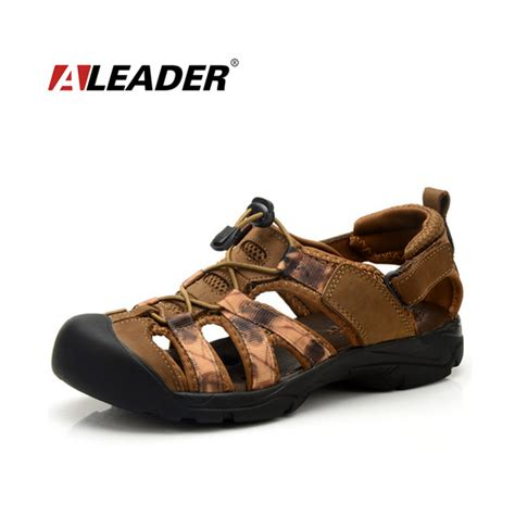 Promo Sepatu Casual Sport Best Seller Sepatu Adidas Nmd mens leather sandals summer outdoor shoes new 2015 waterproof sport sandals shoes closed toe