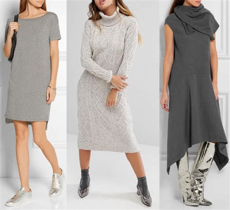 what color shoes to wear with grey dress