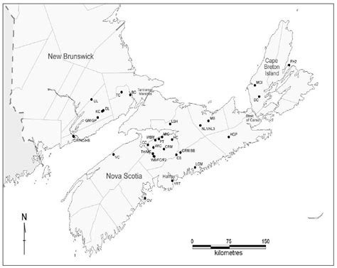Map Of Scotia Outline by Biology