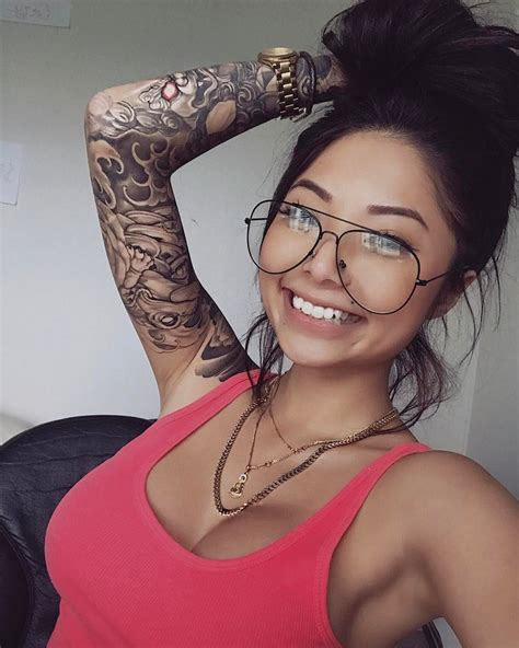 tattoo models cassie trinh tattoos and permanent makeup