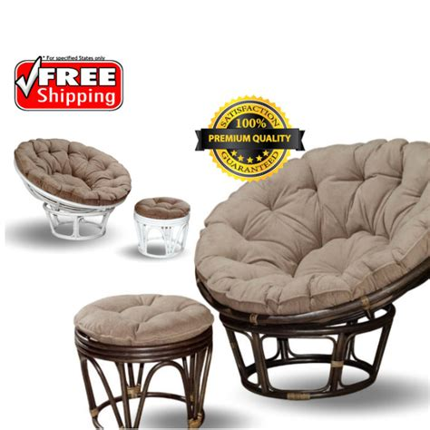 Papasan Chair With Stool by Bamboo Sofa Chair With Stool Hometech2u