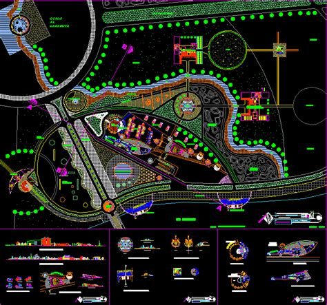 hotel layout plan autocad file recreational resort 2d dwg design full project for autocad