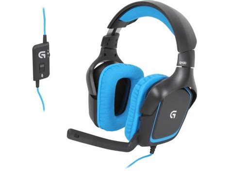 Headset Gaming Logitech logitech g430 surround sound gaming headset x and dolby 7 1 981 000536 newegg