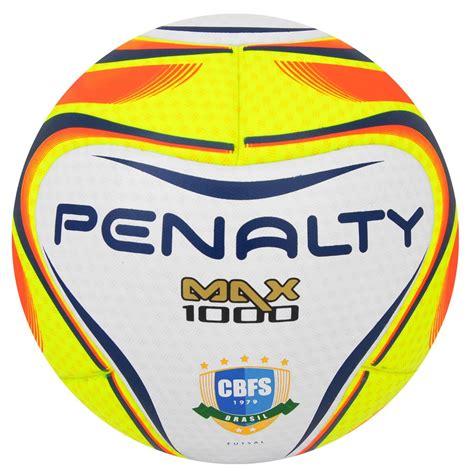 Bola Futsal bola penalty futsal max 1000 iv termotec loja oficial