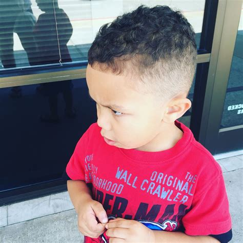 4yr old blackcurly haircut styles my 4 year old boys new hair cute fade and edge mixed boy