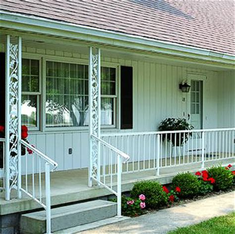 Decorative Metal Porch Posts by Add Curb Appeal To Your Midcentury Home With Ornamental