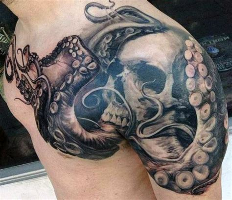 octopus tattoo on chest 40 octopus chest tattoo designs for men oceanic ink ideas