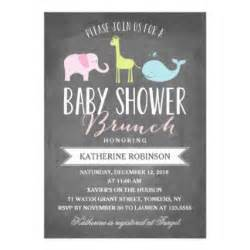 brunch baby shower invitations announcements zazzle canada