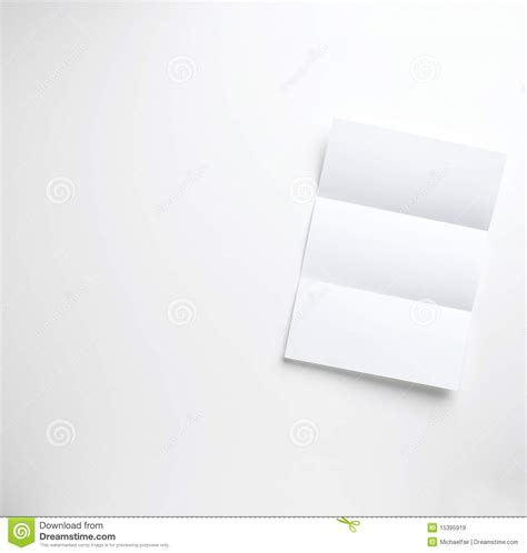 Folded Paper Letters - origami blank folded letter on a white background royalty