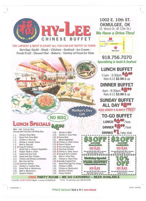 asian buffet menu hy vee buffet menu menu for hy vee buffet okmulgee okmulgee zomato united