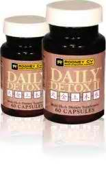Supplement For Detox From Caffeine by Daily Detox Capsules Caffeine Free 60 Capsules 8 15ea