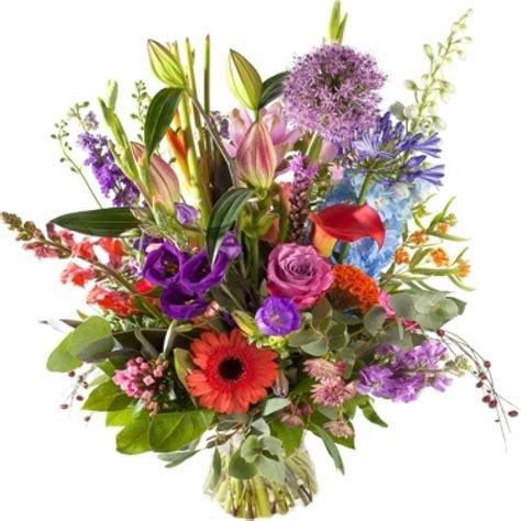 mooie bos bloemen bezorgen zomers boeket met luxe bloemen online bestellen bezorgen