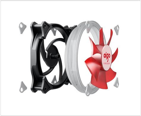 Aigo Rgb Magnetic aigo cooling fan 120mm ring led fan 3pin 4pin