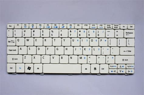 Keyboard Laptop Acer Aspire One 532 532h Ao532h Ao521 Ao522 Ao533 D255 1 us new white colour laptop keyboard for acer aspire one 532h d260 ao532 ao532h aod532h in