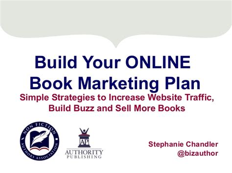 a more simple books build your book marketing plan simple strategies
