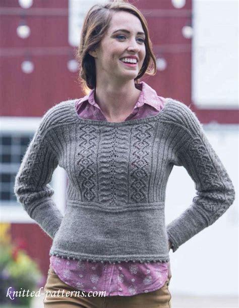 knit pattern top down sweater top down sweater knit pattern free