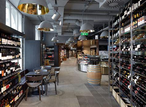 amazing supermarket in vienna commercial interior design