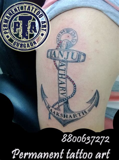 anchor tattoos with names 559 best images about anchor on