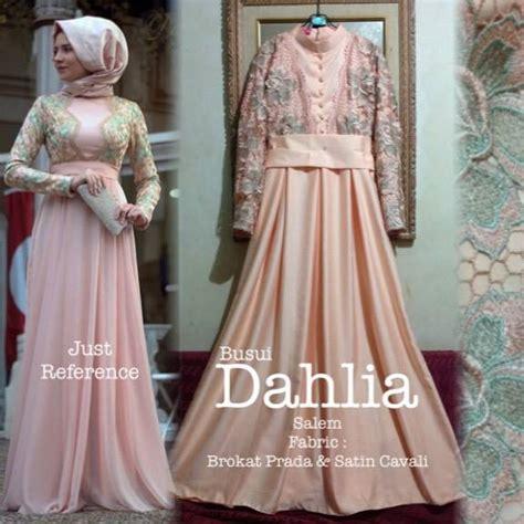 Maxy Tiara Brokat dahlia dress outlet nurhasanah outlet baju pesta