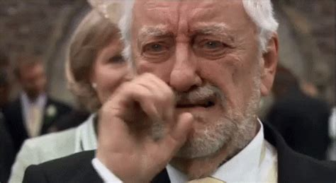 Crying Meme Gif - proud touched gif proud touched tears discover share