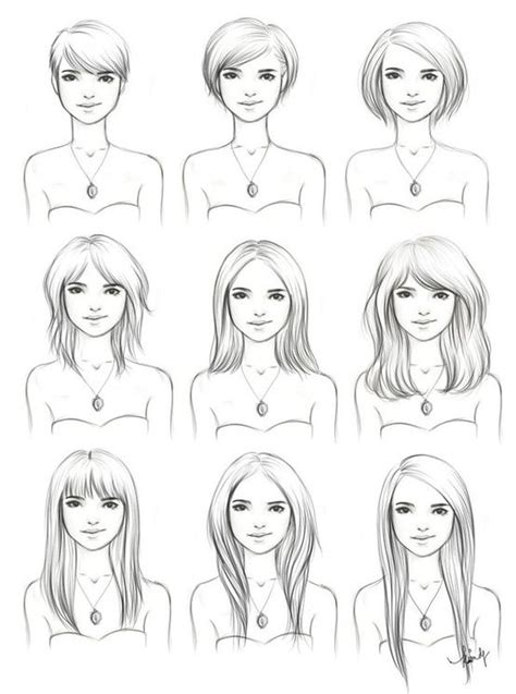 long bob hairstyles drawings hairstyles drawing interesting to see how to manage a