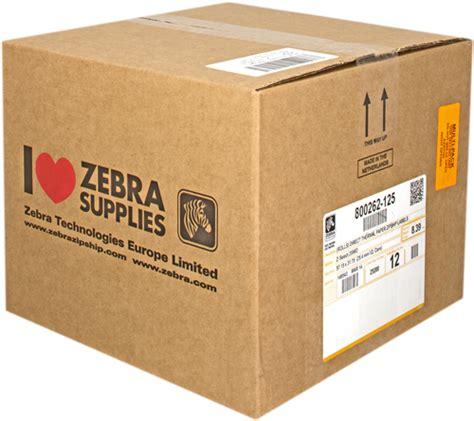 Etiketten Zebra by Zebra 800262 125 12pck Etiketten Von Tonerdepot De