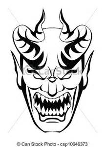 vectors illustration of devil head csp10646373 search