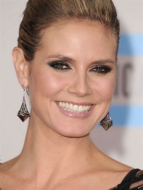 Heidi Klum Needs Some Makeup by Venture Makeup Inspired By The