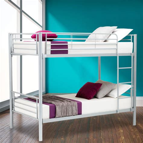 twin bunk beds for kids metal twin over twin bunk beds frame ladder kids adult