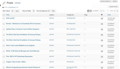 cara layout artikel cara impor data wordpress dari blogger tutorial web